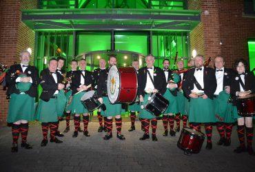 Fianna Phadraig Pipe Band Mayo Manchester Tradfest 2018 Ballina Mayo Traditional Music in Mayo