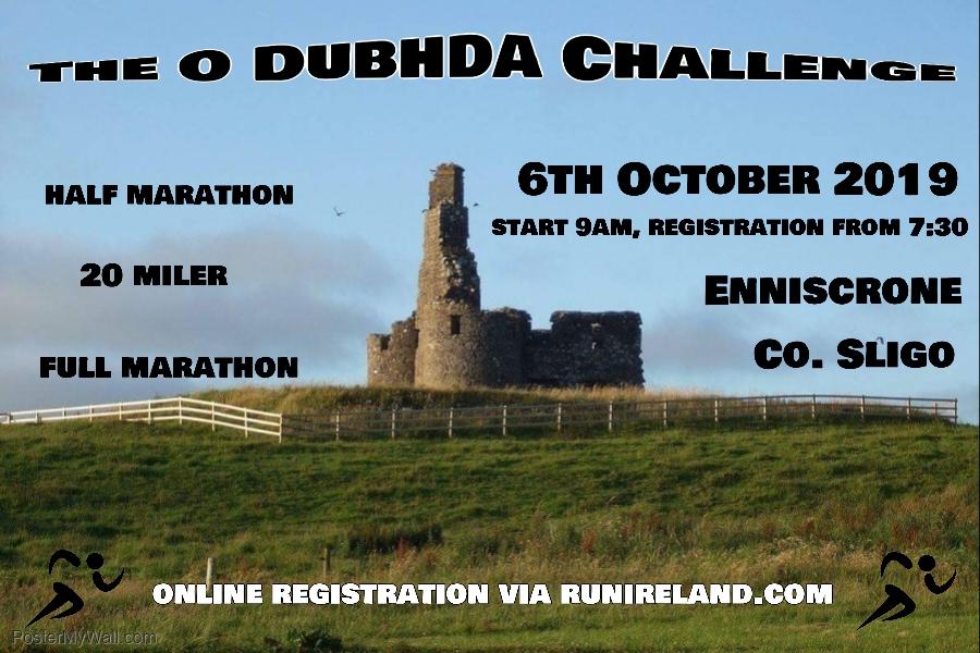 Enniscrone O'Dubhda Challenge Marathon, Half and 20 Miler