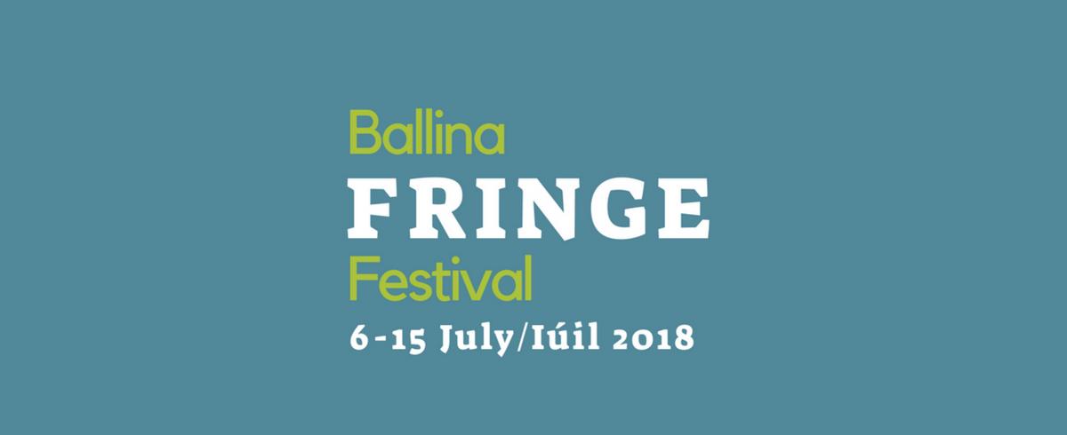 Ballina Fringe Festival website cover