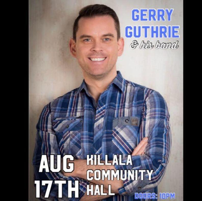 Gerrry Guthrie and Band Killala Live Events Live Music Wild Atlantic Way Killala Co Mayo Killala North Mayo Live Music in North Mayo