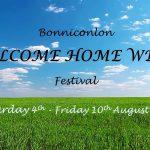 Bonniconlon Festival  – Welcome Home Week 3rd – 10th August 2018