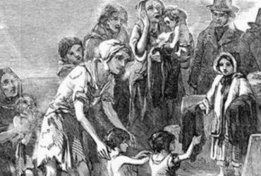 mayo famine girls memorial australia