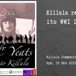Mr Yeats' Visit To Killala 2018 – 10th Nov 2018