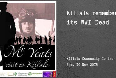 Mr Yeats' Visit To Killala - Killala Remembers its WW1 Dead