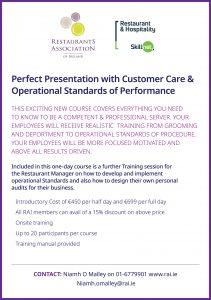 RAI perfect presentation training