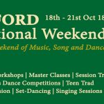 Foxford Traditional Weekend – 18th-21st October 2018