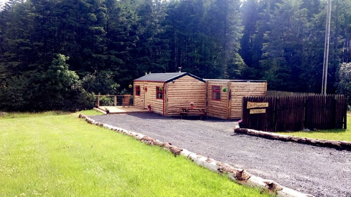 Ox Mountain Adventure Camp lodge