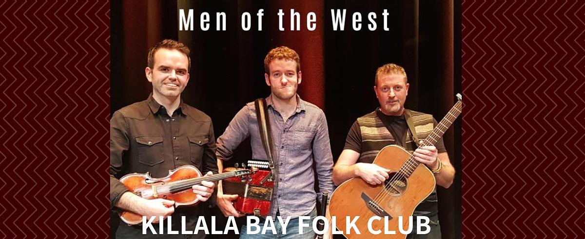 Killala Bay Folk Club Men of the West