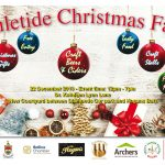 Yuletide Christmas Fair – 22nd December taking place at Dr Kathleen Lynn Lane, Ballina