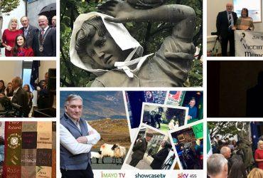 Mayo Famine Girls Memorial mayo association dublin meitheal award