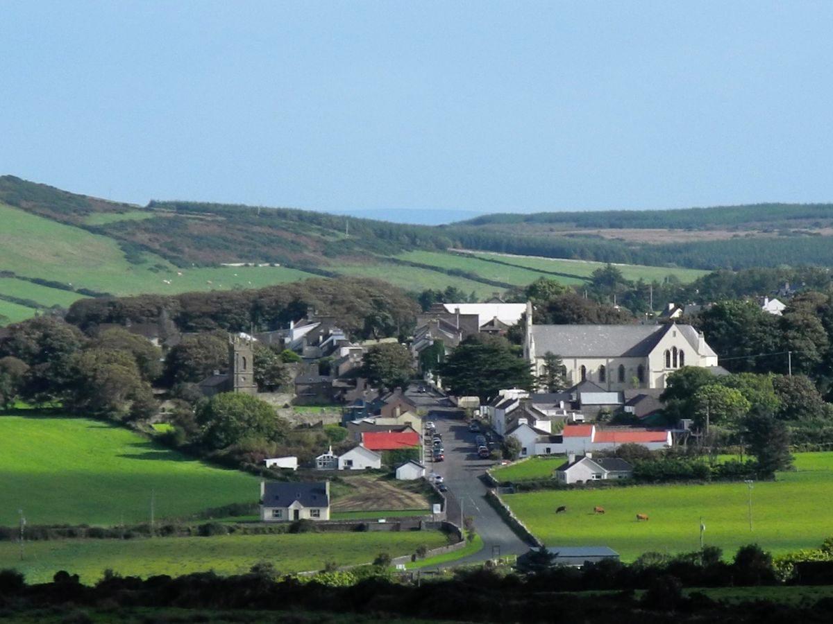 Ballycastle village, North Mayo © Noel Wheelan of Burke's Céide Coast Accommodation
