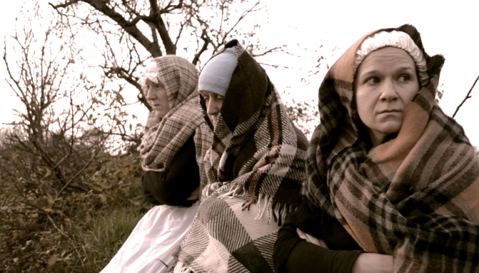 "Topher Neville's short film ""A Famine Portrait"" Ballina and Athis-Mons"