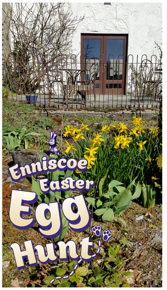 Enniscoe Easter Egg Hunt Enniscoe House North Mayo Heritage Centre Crossmolina Ballina Easter events in North Mayo Family fun at Easter