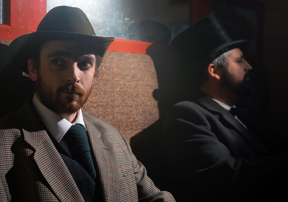 Seán Ó Tarpaigh playing Michael Davitt