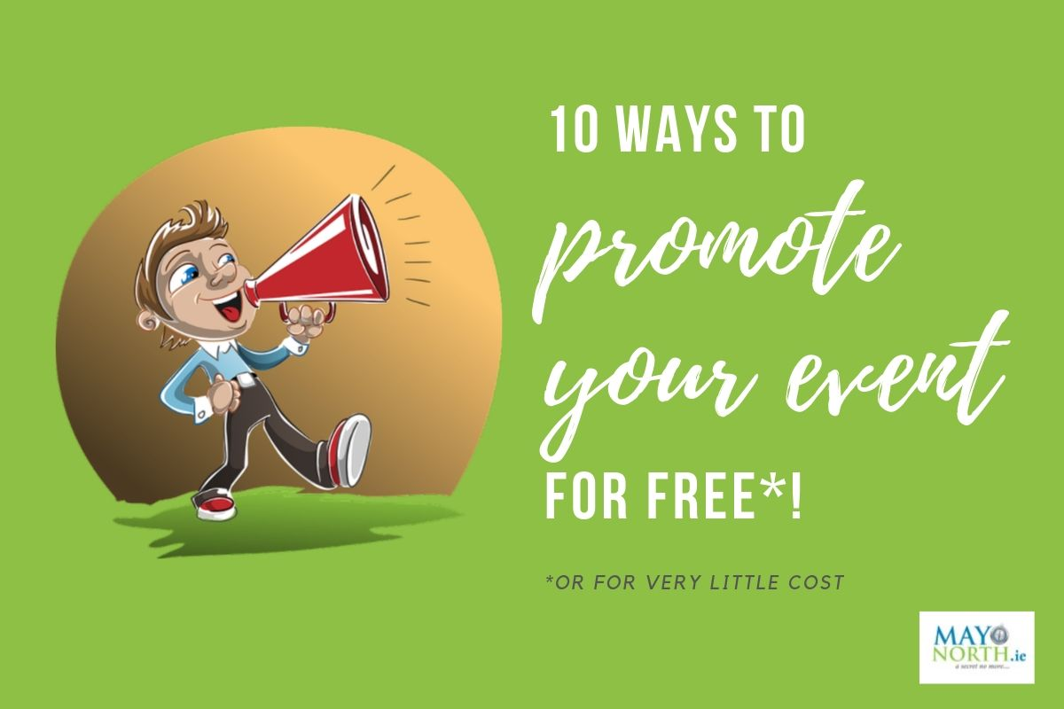promoting your event for free