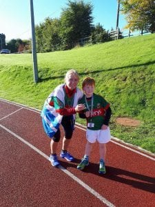 Junior Park Run Ballina North Mayo