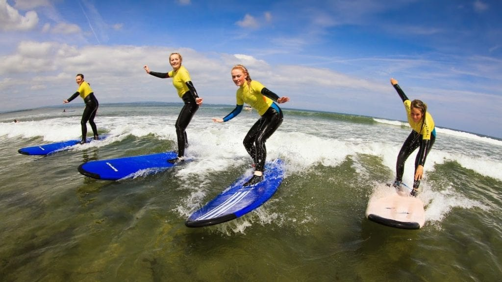 7th Wave Surf School Enniscrone Surf Camp