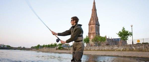 Ballina, the salmon capital of Ireland