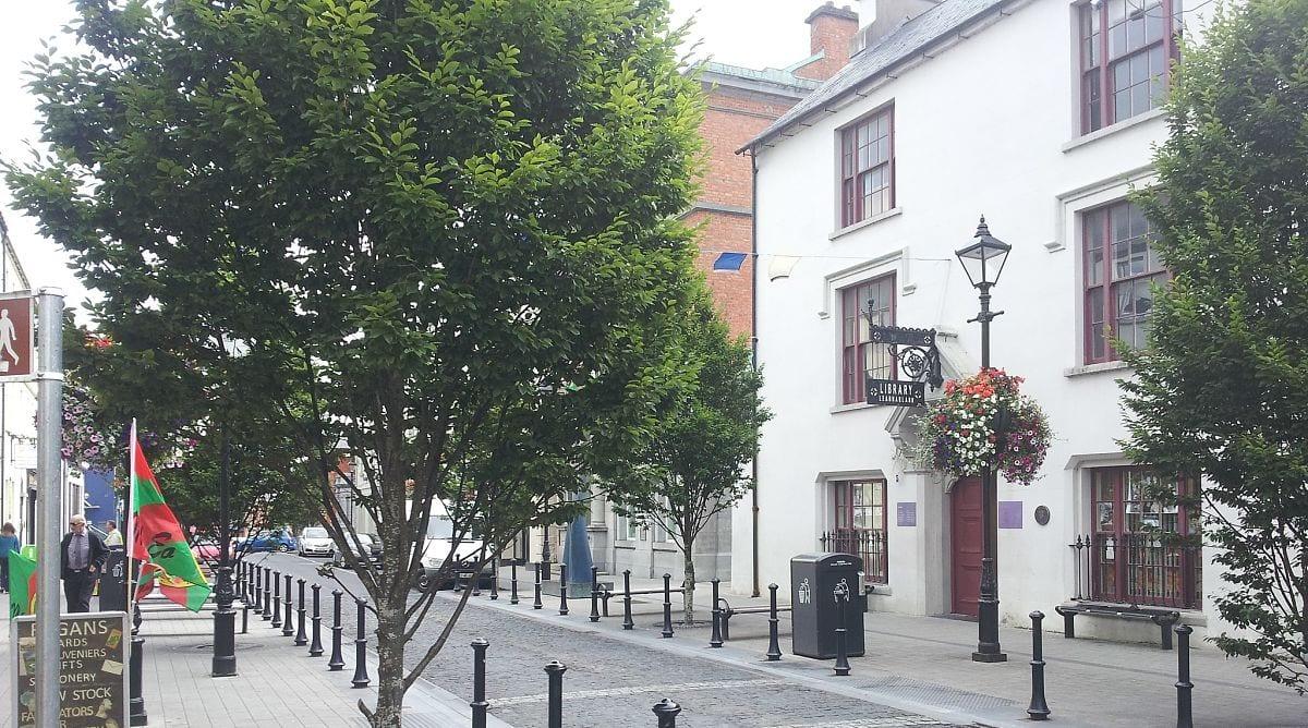 Ballina Library Pearse Street Ballina The Moy Hotel Ballina