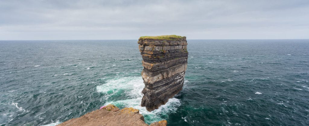 Dun Briste sea stack at Downpatrick Head