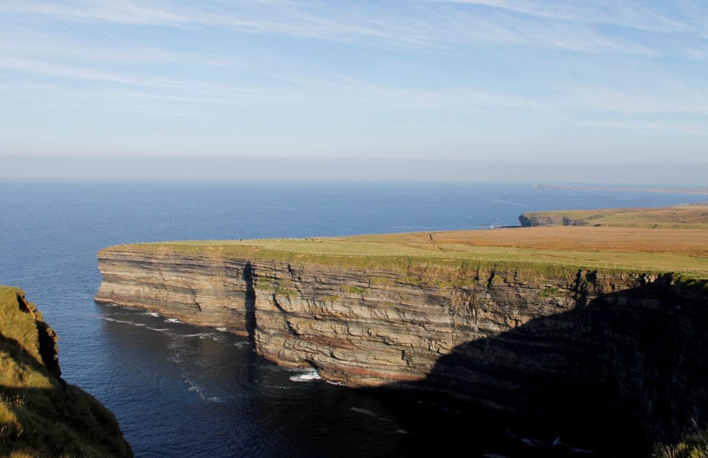 The Céide Cliffs, Ballycastle, County Mayo