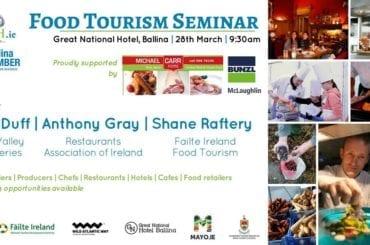 Mayo North Food Tourism Seminar