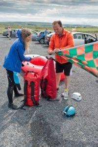 Dun briste climb downpatrick Head ballycastle