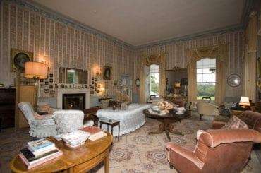 Interior of Enniscoe House georgian homestay ballina crossmolina may