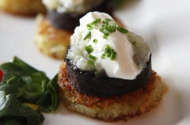 authentic food experience Kelly's black pudding at Marjorie's kitchen