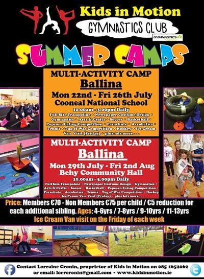 Kids in Motion Ballina summer camps