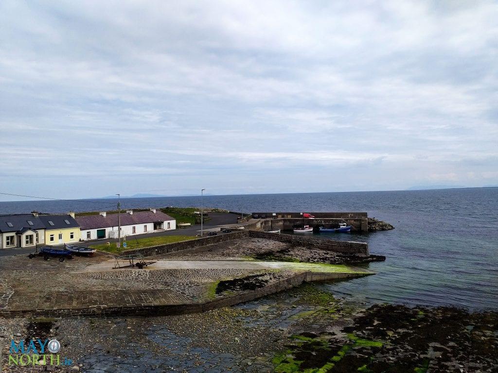 Kilcummin Harbour in North Mayo, Ireland