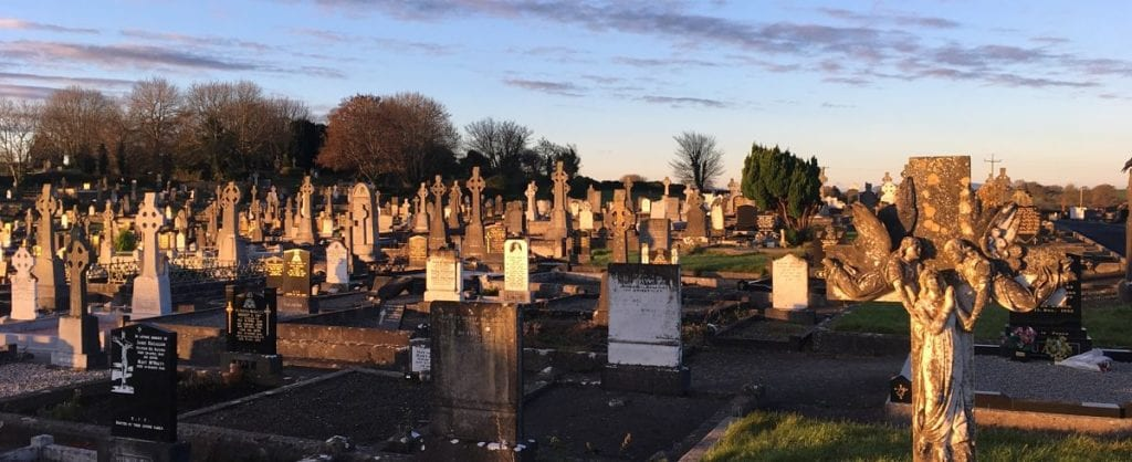 Leigue Cemetery Ballina Co. Mayo Ireland for Mayo North website
