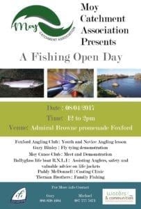 Moy Catchment Association fly fishing open day Foxford Mayo