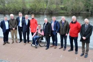 Opening of Disabled Anglers Facility on the River Moy, County Mayo