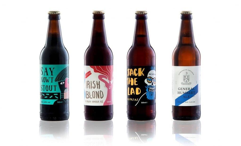 Reel Deel Brewing Company Beer and Ale Crossmolina Co. Mayo
