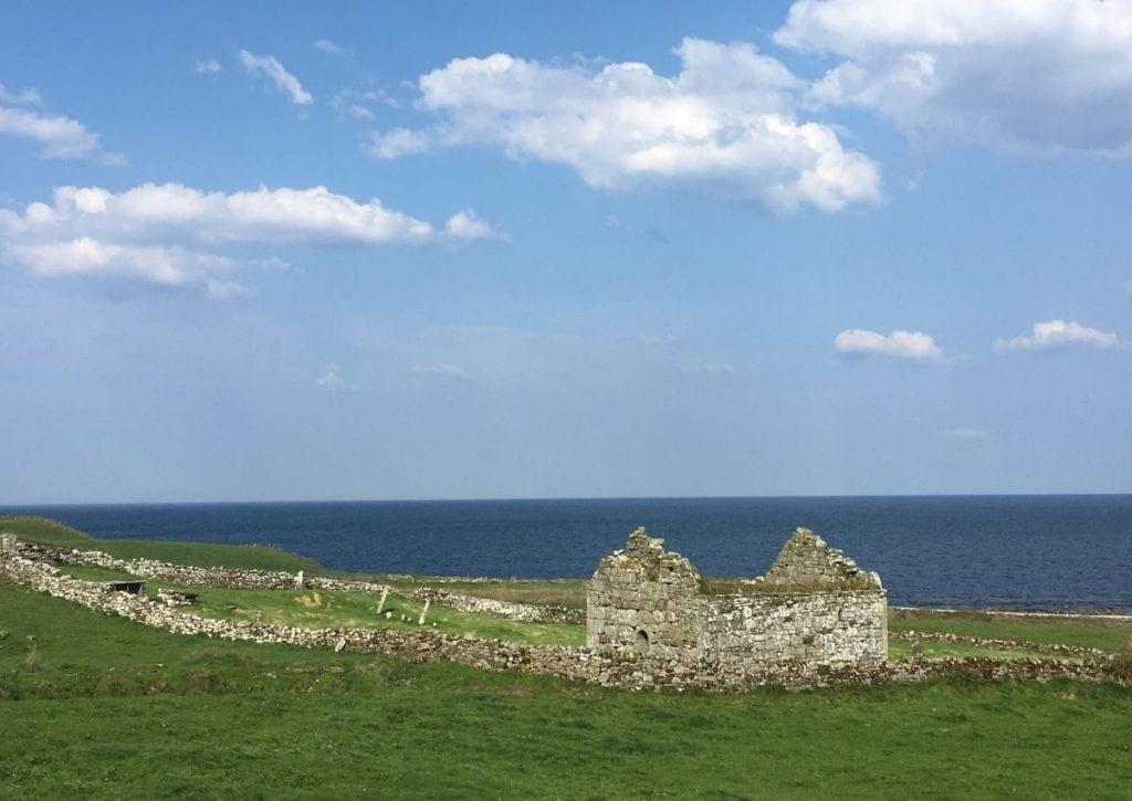 Ruins of St Cuimin's Church Kilcummin Co. Mayo_Ireland