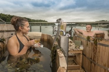 Seaweed Baths at The Ice House, Ballina County Mayo Ireland