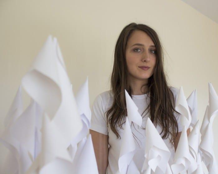 Katie Moore Paper Bloom exhibition