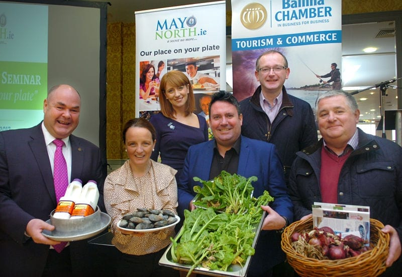 Speakers at the first Mayo North Food Tourism Seminar_opt