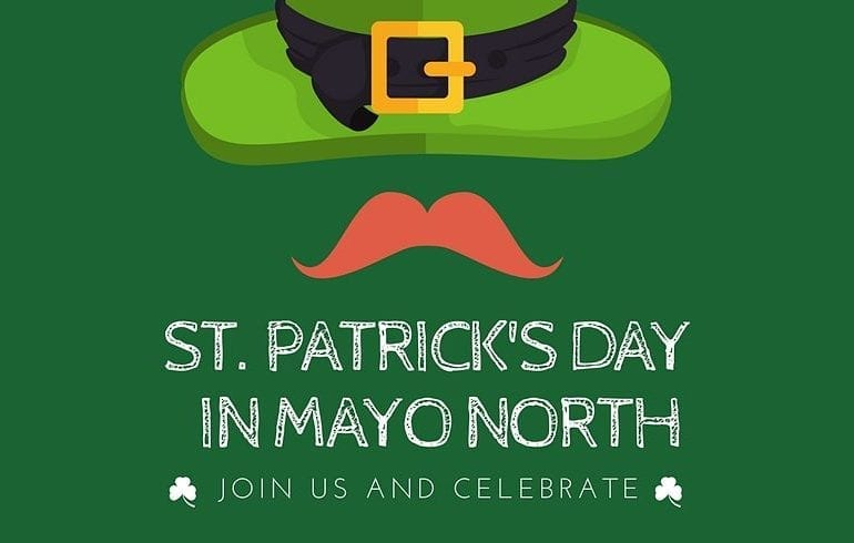 St. Patrick's Day 2018 in Mayo North parades