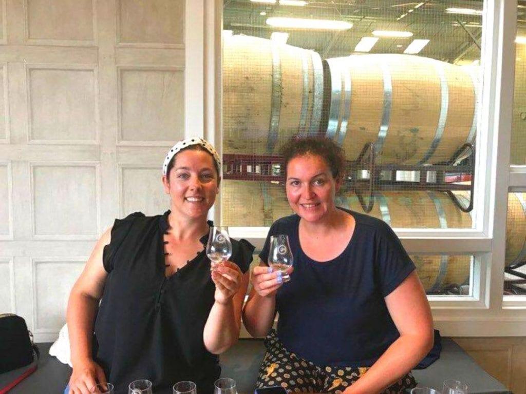 Tour at tasting at Connacht Whiskey Company Distillery, Ballina, Co. Mayo, Ireland