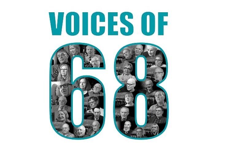 Voices of 68 Exhibition ballina Co. Mayo