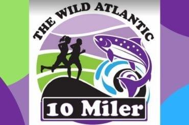 Wild Atlantic 10-Miler race Ballina Co. Mayo