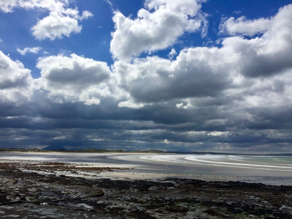 Enniscrone beach, Co. Sligo, Ireland