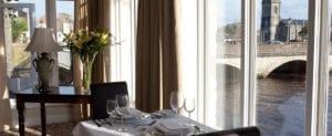 restaurant at Ballina Manor Hotel