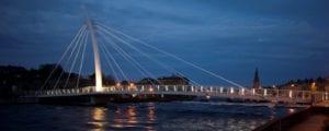 Footbridge over the River Moy at Ballina, Co. Mayo