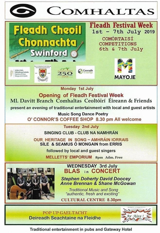 Fleadh Cheoil Chonnachta 2019