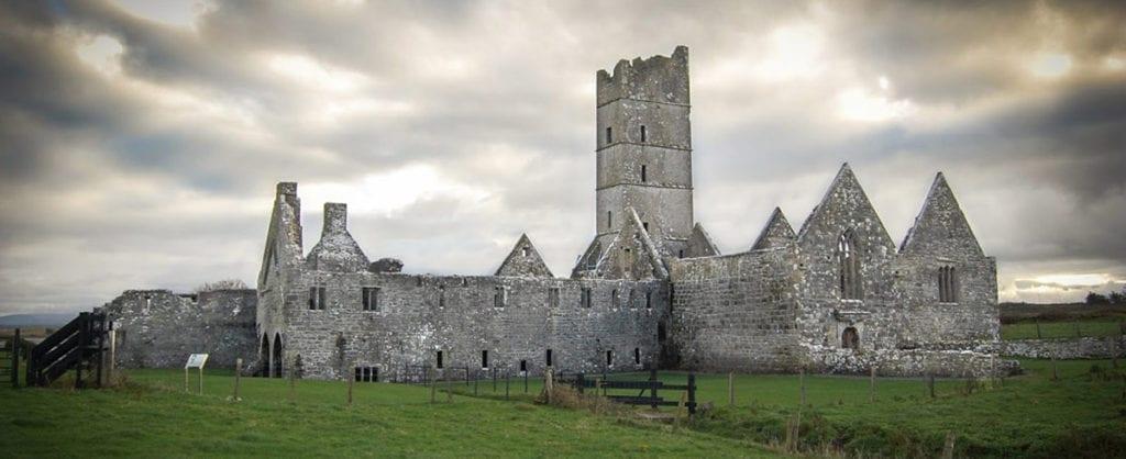 Moyne Abbey Killala Co. Mayo Monasteries of the Moy