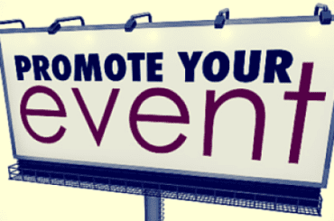 Top Tips on Promoting your Event