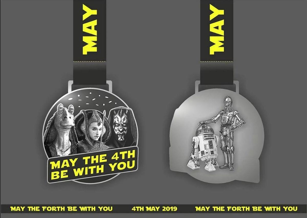 Mayo day Star Wars 4 miler